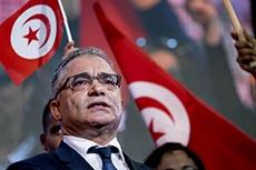 Meeting du parti de Marzouk