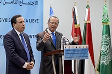 Réunion ministérielle des pays voisins de la Libye